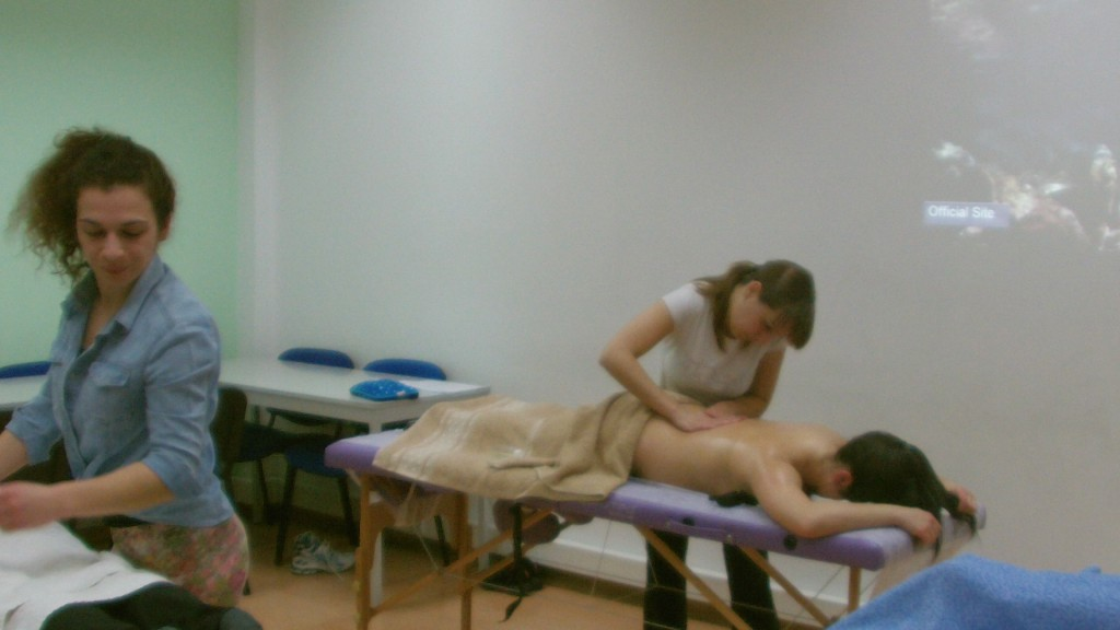Curso de Massagista em Leiria em Abril/2014