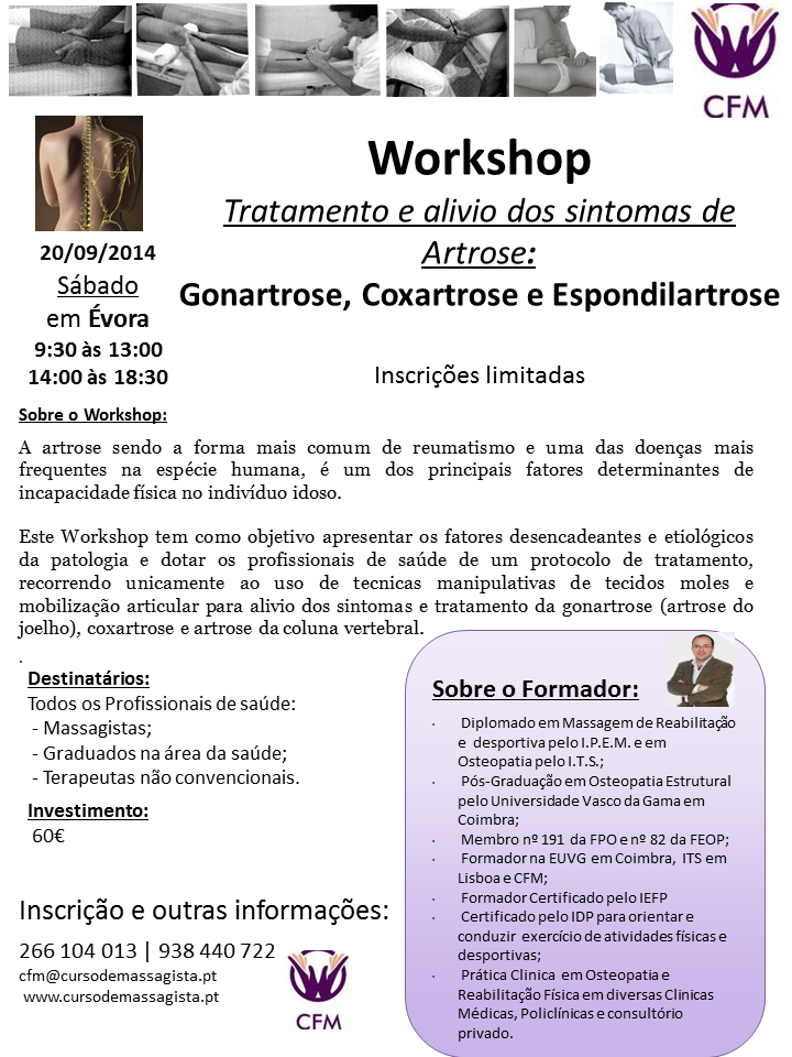 Workshop Osteoartrose