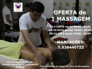 Oferta 1 Massagem 1 CFM1