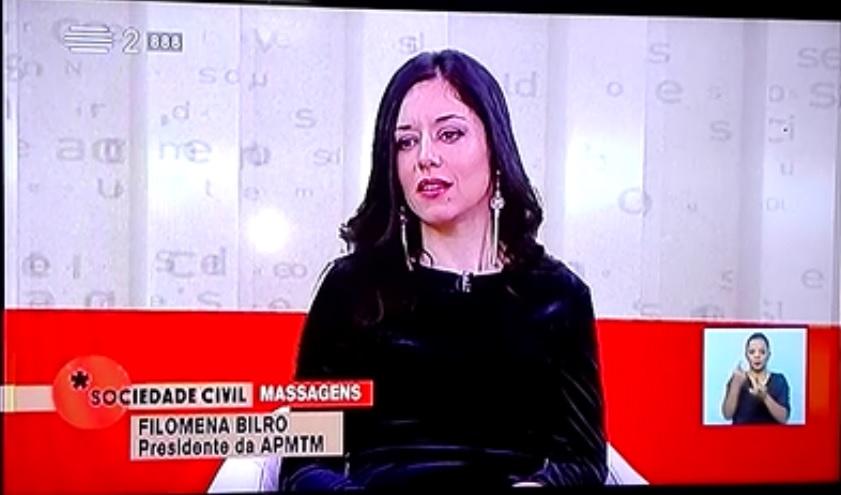 """Tema """"Massagens"""" na Sociedade Civil RTP2"""